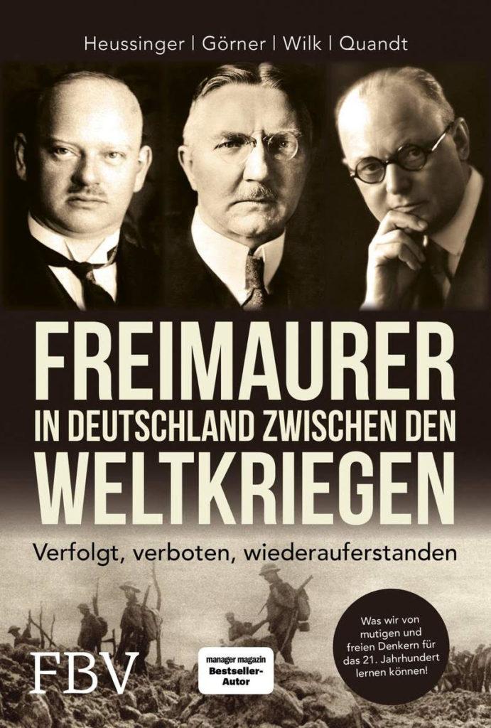 Rezension, BuchbesprechungPerspektivee Mannsein, FReimaurer, Weltkrieg, Freimaurer zwischen den Weltkriegen, Cover, Titelbild