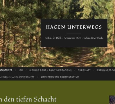 Hagens Blog, spirituell, Spiritualität, Freimaurer, Loge,